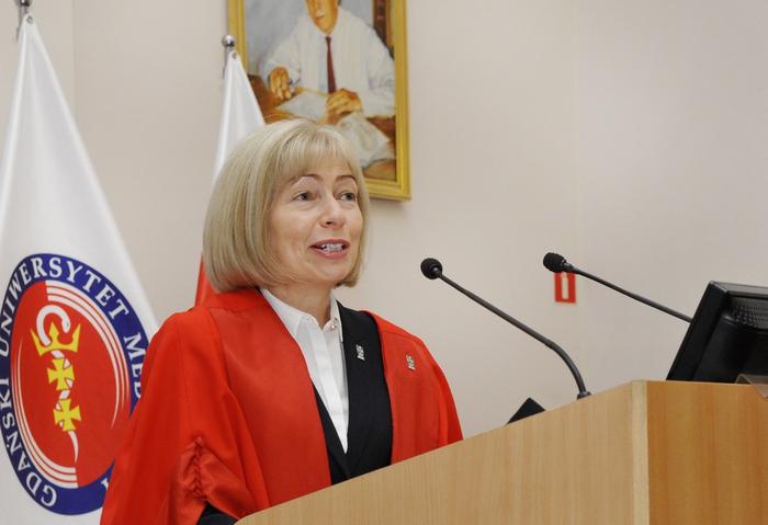 Prof. Dame Anna Dominiczak, inauguration ceremony 2016